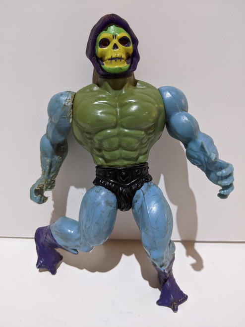 Masters Of The Universe Skeletor Action Figure - 1981 - Mattel - FR