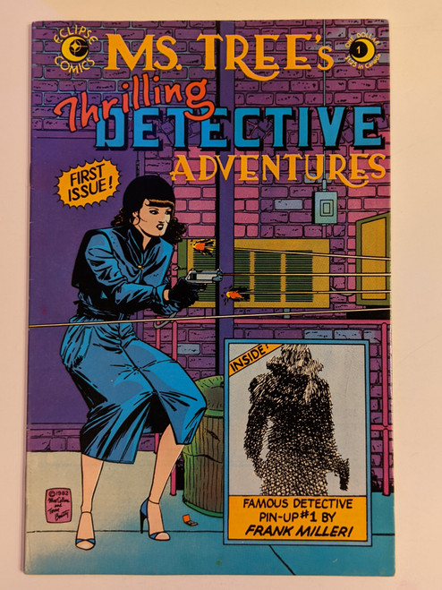 Ms. Tree's Thrilling Detective Adventures #1 - 1983 - Eclipse Comic - VG