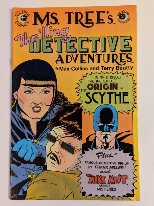 Ms. Tree's Thrilling Detective Adventures #2 - 1983 - Eclipse Comic - VG