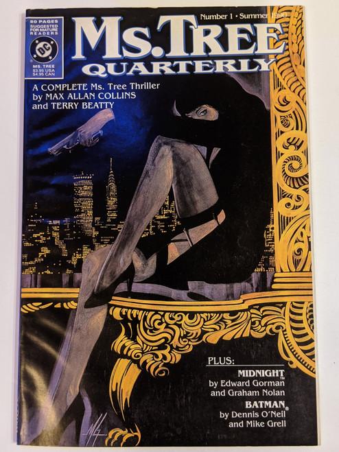 Ms. Tree Quarterly #1 - 1990 - DC Comic - GD