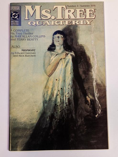 Ms. Tree Quarterly #4 - 1991 - DC Comic - VG