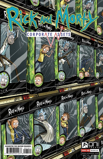 Rick And Morty: Corporate Assets #1 - Lee Cover B Variant - 10/11/21 - Oni Press Comic