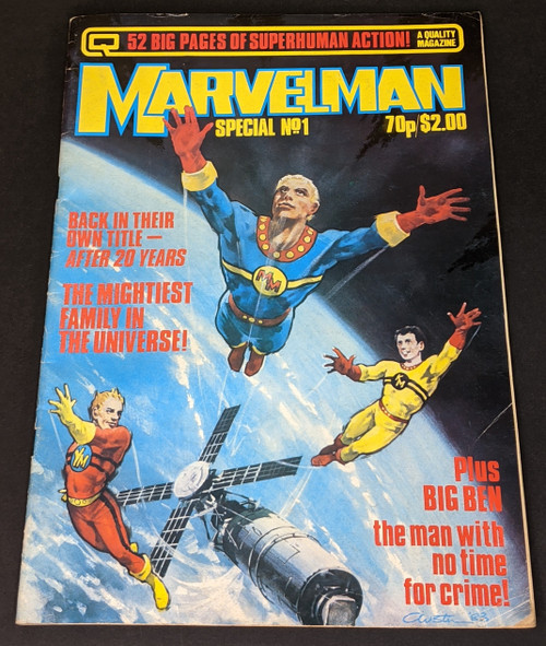 Marvelman Special #1 - 1984 - Quality Communications Comic - GD
