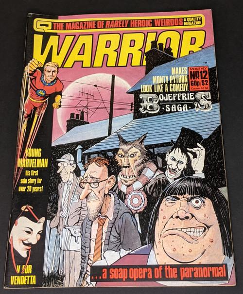 Warrior #12 - 1983 - Quality Communications Comic - VG