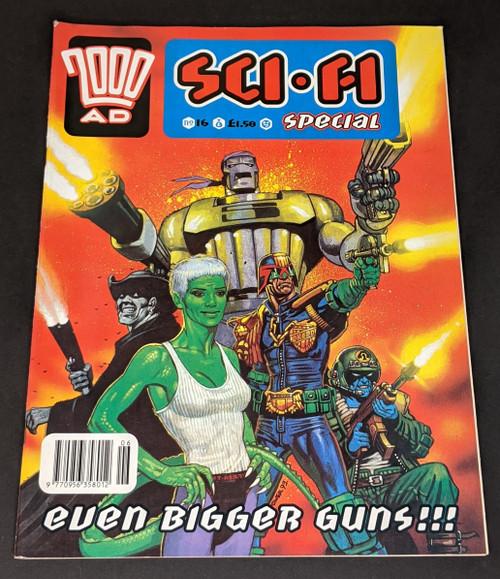 2000 AD Sci-Fi Special - 1993 - Fleetway Comic - VG