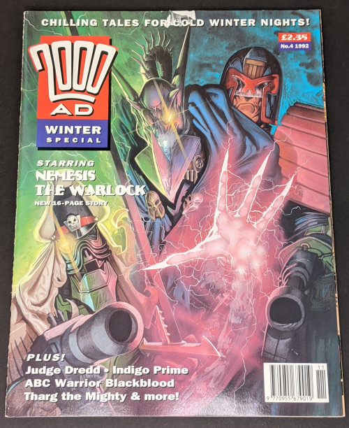 2000 AD Winter Special - 1992 - Fleetway Graphic Novel - TP - VG