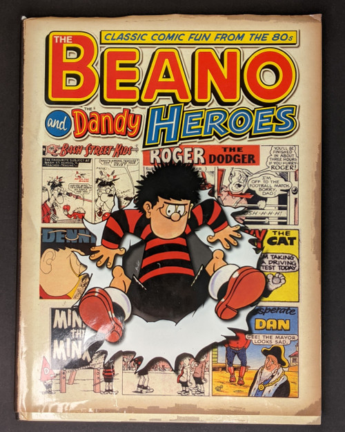 Classic Beano and Dandy Heroes: Classic Fun From The 80's Annual - 2010 - DC Thomson Book - HC- GD