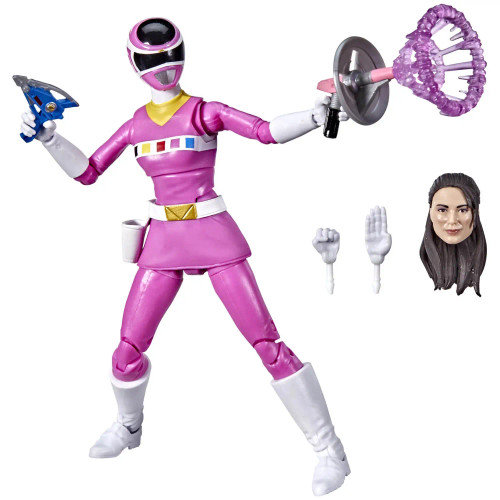 Power Rangers Lightning Collection: In Space Pink Ranger Figure - 01/03/22 - Hasbro