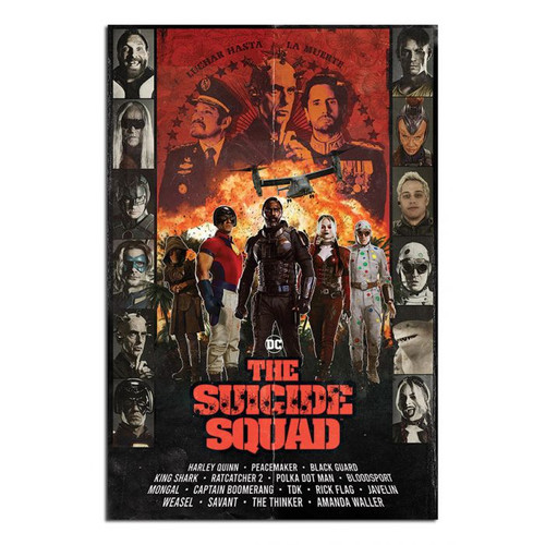 The Suicide Squad: Team Poster - 30/09/21 - Pyramid International