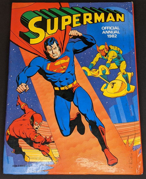 Superman Official Annual - 1982 - London Editions - VG