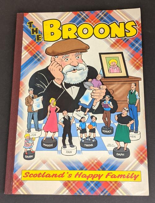 The Broons: Scotland's Happy Family - 2000 - Black & White Publishing - VG