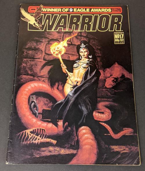 Warrior #17 - 1984 - Quality Communications Comic - FR