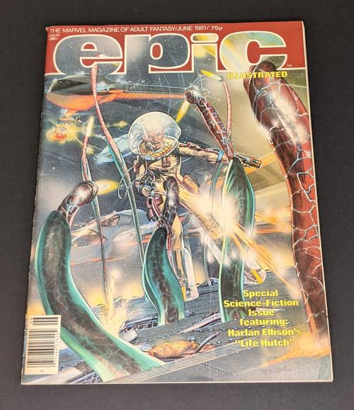 Epic Illustrated June 1987 - 1987 - Marvel Comics - VG