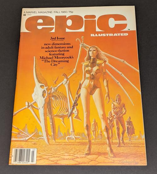 Epic Illustrated Fall 1980 - 1980 - Marvel Comics - VG