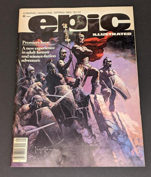 Epic Illustrated Spring 1980 - 1980 - Marvel Comics - VG