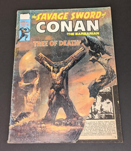 The Savage Sword Of Conan The Barbarian #5 - 1974 - Curtis Magazines - PR