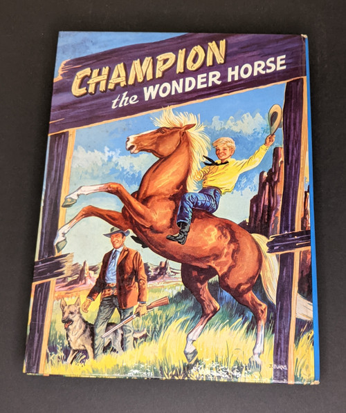 Champion The Wonder Horse Annual - 1958 - Purnell Book - HC - GD
