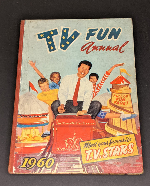 TV Fun Annual - 1960 - Amalgamated Press Ltd Book - HC - GD