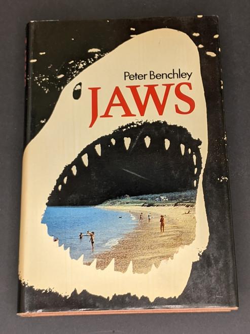 Jaws - First UK Edition - 1974 - Book Club Associates Book - HC - GD