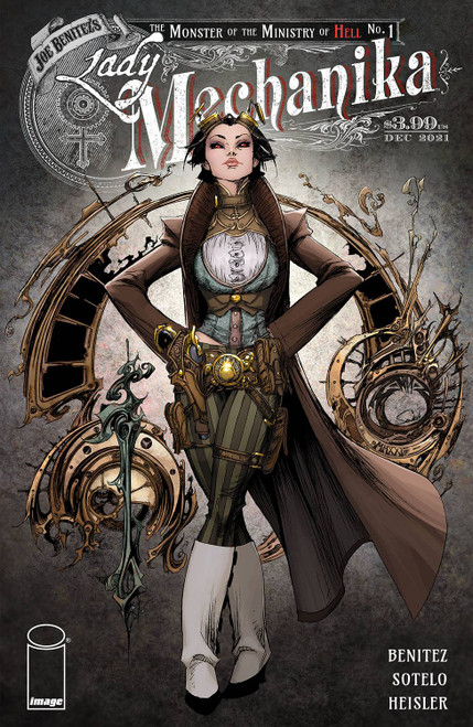 Lady Mechanika: The Monster Of The Ministry Of Hell #1 - 08/12/21 - Image Comic