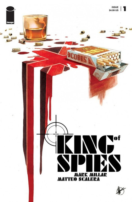 King Of Spies #1 - 01/12/21 - Image Comic