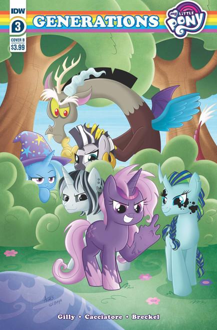 My Little Pony: Generations #3 - 29/12/21 - IDW Comic