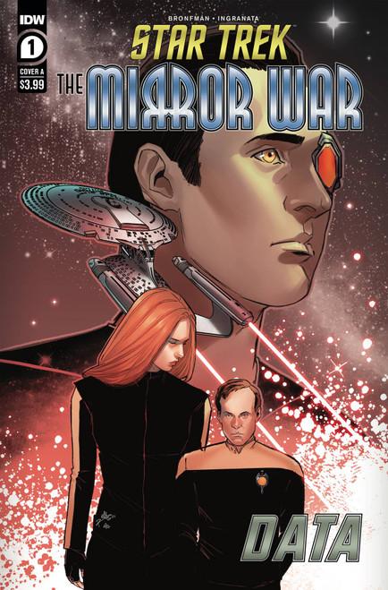 Star Trek: The Mirror War - Data #1 - 01/12/21 - IDW Comic