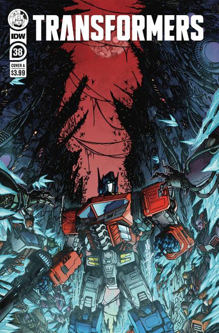 Transformers #38 - 22/12/21 - IDW Comic