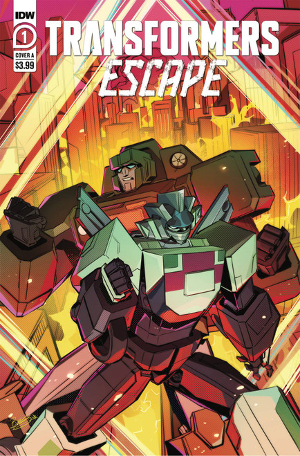 Transformers: Escape #1 - Dark Horse Comic - Pre-Order - Released 30/12/2020