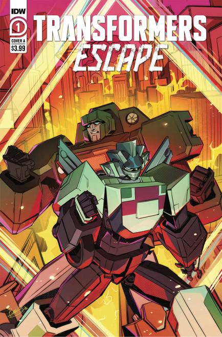 Transformers: Escape #1 - Dark Horse Comic - Pre-Order - Released 30/12/2020