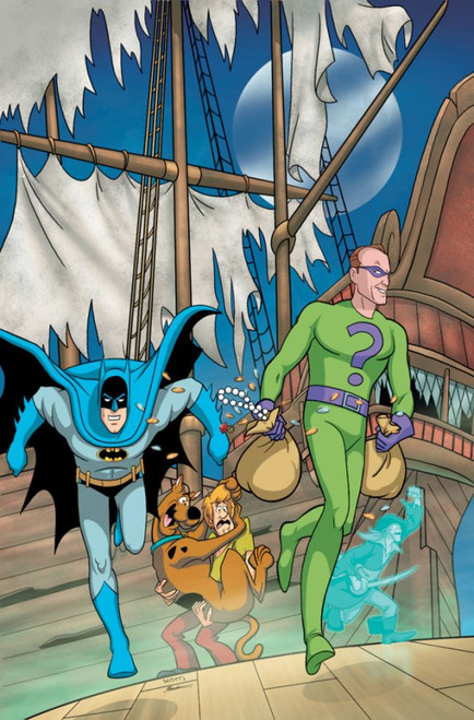 The Batman & Scooby-Doo Mysteries #9 - 28/12/21 - DC Comic