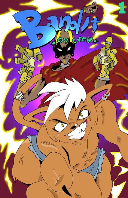 Bandit Cat Crew #1 - Meraki Comics - Thomas Wilson