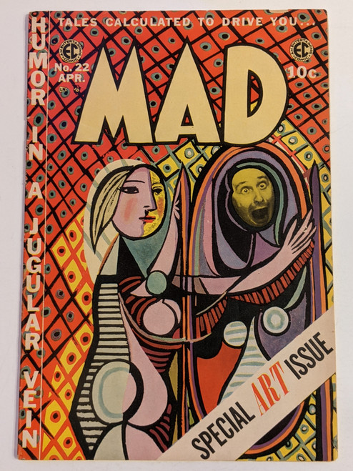 MAD Magazine #22 - 1955 - Special Art Issue - EC Comic - VG