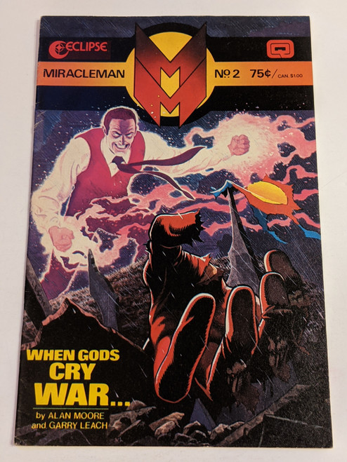 Miracleman #2 - 1985 - Eclipse Comic - VG