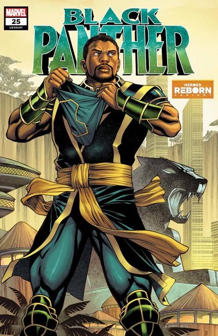 Black Panther #25 - Heroes Reborn Variant - 26/05/21 - Marvel Comic