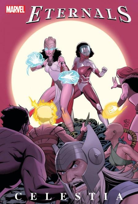 Eternals: Celestia #1 - Blake Variant Cover - 06/10/21 - Marvel Comic
