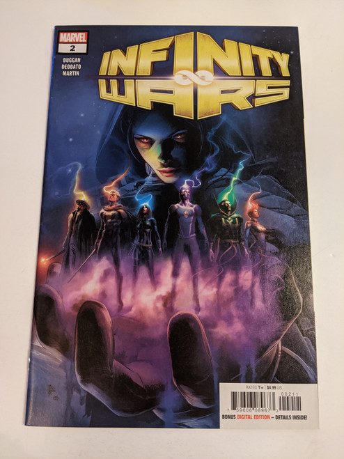 Infinity Wars #2 - 2018 - Deodato Variant Cover Featuring Gamora - Marvel Comic - FN