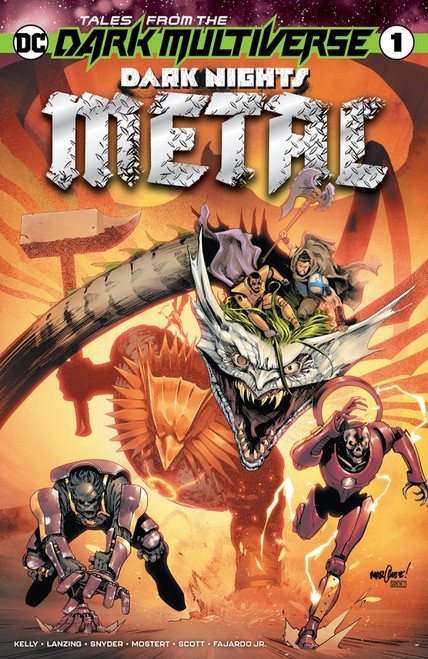 Tales From The Dark Multiverse: Dark Nights: Metal #1 - DC Comic - Pre-order - Released 29/12/20