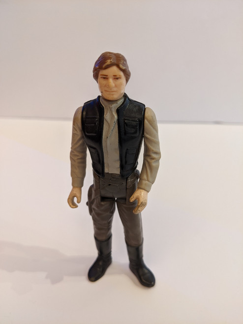 Star Wars Return Of The Jedi Han Solo Endor - 1983 - Kenner - VG