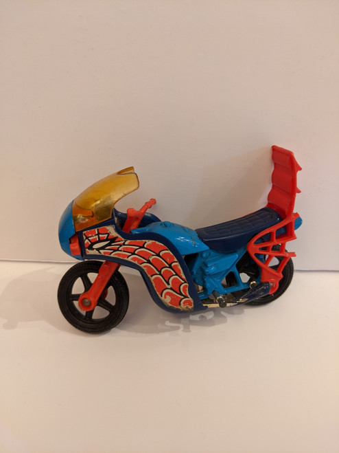 Spiderman Diecast Spiderbike - 1979 - Corgi - VG