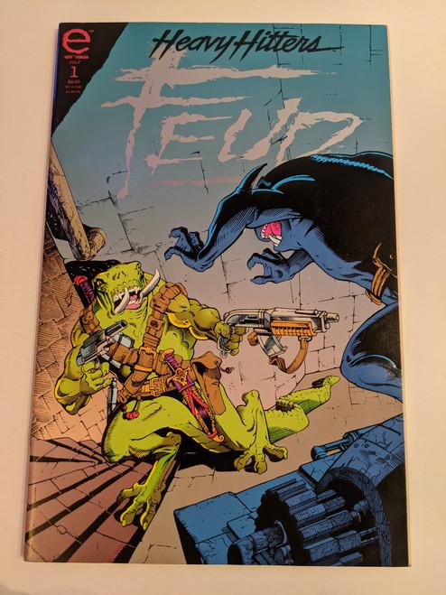 Heavy Hitters Feud #1 - 1993 - Epic Comics - VG