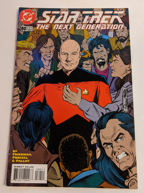 Star Trek: The Next Generation #80 - 1996 - DC Comic - VG