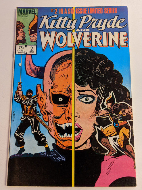 Kitty Pryde And Wolverine #2 - 1984 - Marvel Comic - GD