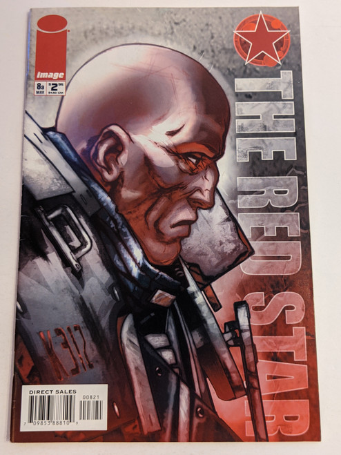 The Red Star #8a - 2002 - Image Comic - VG