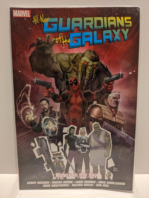All-New Guardians Of The Galaxy: Riders In The Sky - 2017 - Marvel Paperback - GD