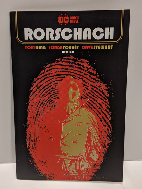 Rorschach #1 - 2020 - DC Comic - NM