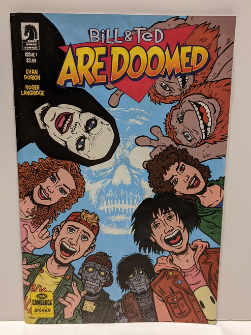 Bill And Ted Are Doomed #1 - 2020 - Dark Horse Comic - FR