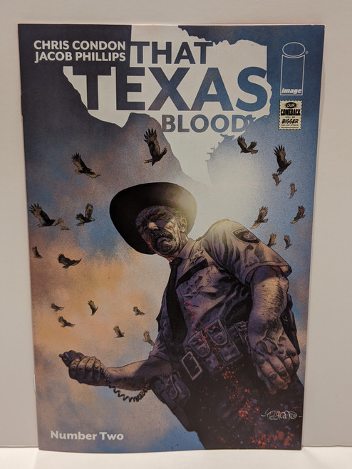 That Texas Blood #2 - Fegredo Variant Cover - 2020 - Image Comic - NM