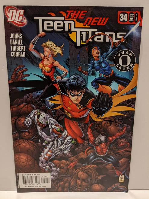 The New Teen Titans #34 - 2006 - DC Comic - VG