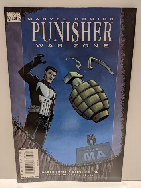 Punisher: War Zone #2 - 2009 - Marvel Comic - VG